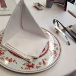 赤坂離宮テーブル