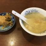 チャーハンのスープとザーサイ