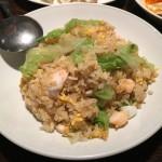海鮮レタス炒飯