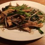 青菜の黒ごま塩炒め(650)