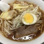 ワンタン麺(850円)
