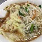 もやしワンタン麺(950円)