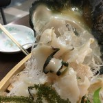 夜光貝(炒め物と合わせて5000〜)