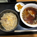 炒飯セット(600円)