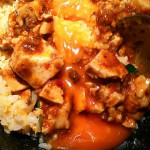 麻婆豆腐と黄金炒飯