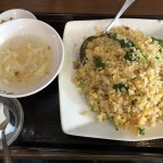 チャーシュー炒飯(850円)