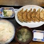 餃子定食(600円)