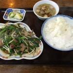 レバニラいため定食(900円)
