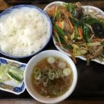 肉野菜いため定食(900円)