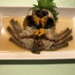上海蟹の老酒漬け(2800円)